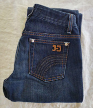 Joe's Jeans Blue Denim Pants Size W24 Wide Leg Honey Fit Boot Cut - $51.48