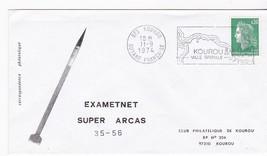 EXAMETNET SUPER ARCAS ROCKET #35-56 GUYANNE FRANCAISE 11/9/1974 - $1.78