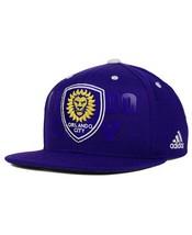 NWT New Orlando City SC adidas MLS Academy Purple One Size Snapback Hat Cap - $19.75