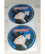 """(5) MONOPOLY Safeway Albertsons Vons Pavilion The Shop-Play-Win Game 3"""" ... - $9.09"""
