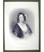 QUEEN VICTORIA'S Court Beauty The Honorable Mrs. Ashley - SUPERB Print E... - $27.72