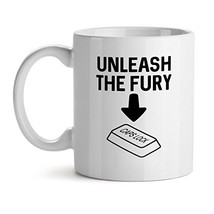 Unleash The Fury  Song Singer Best Music Love Fan Dream - Mad Over Mugs - Inspir - $20.53