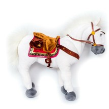 "Tangled Maximus Horse Plush 14"" Disney Store White Bendable Flynn Stuffe... - $24.61"
