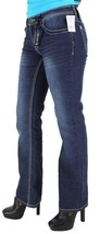 NEW US POLO WOMEN'S DENIM BOOT CUT RHINESTONE LOW RISE JEANS 211484VJ1KC image 2