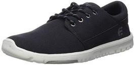 Etnies Men's Scout Skate Shoe, Navy/Silver, 10 Medium US