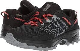 Saucony Women's Excursion TR12 GTX Sneaker, Black 1, 7.5 M US - $109.18