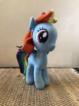 "8"" My Little Pony Rainbow Dash Pegasus Blue Stuffed Plush Doll Toy Factory - $9.90"