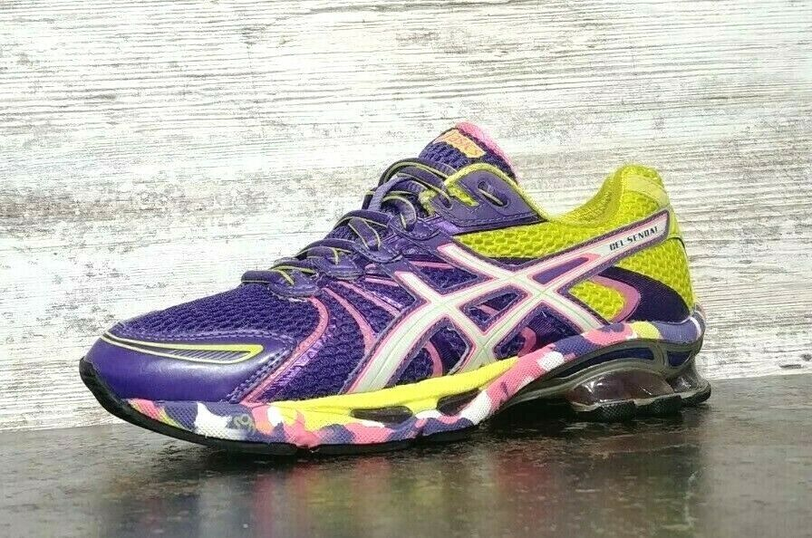 Womens Asics Gel Sendai Running Shoes SZ 6.5 37.5 Used T36DQ Sneakers Trainers