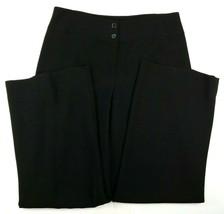 Jones New York Womens Pants Size 6 Black 32 x 28 with 2 Inch Hem Fully L... - $23.72