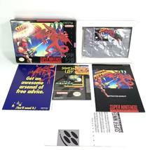 Super Metroid SNES CIB Super Nintendo Authentic Complete 1st Printing Excellent - $593.99
