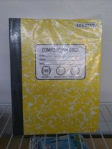 PACK OF 6 Unison Composition/Notebook 80 Sheets College Ruled- QUANTITY DISCOUNT image 5