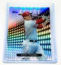 MLB MARK TRUMBO ANAHEIM ANGELS 2013 TOPPS FINEST REFRACTOR #92 MINT - $2.33