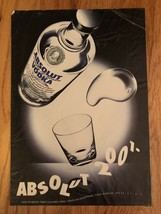Absolut 2001 Original Ad - $2.49