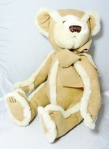 """Bath And Body Works Plush Gingerbread Bear Suede And Lambs Wool 9"""" Teddy Bear 3+ - $16.78"""