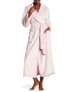 NWT New Natori Pink Faux Fur Robe Womens Long Very Soft Pockets M Dusty ... - $162.50