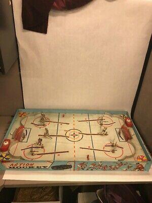 Vintage NHL Superior Action Hockey Table Game Toy Cohn Blackhawks Rangers
