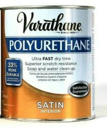 1 Cans Varathane 32 Oz Polyurethane 266245 Satin Interior Ultra Fast Dry... - $21.99