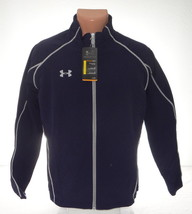 Under Armour Storm Dark Blue Puck Warm Up Hockey Jacket Youth Boy's XL NWT - $48.25