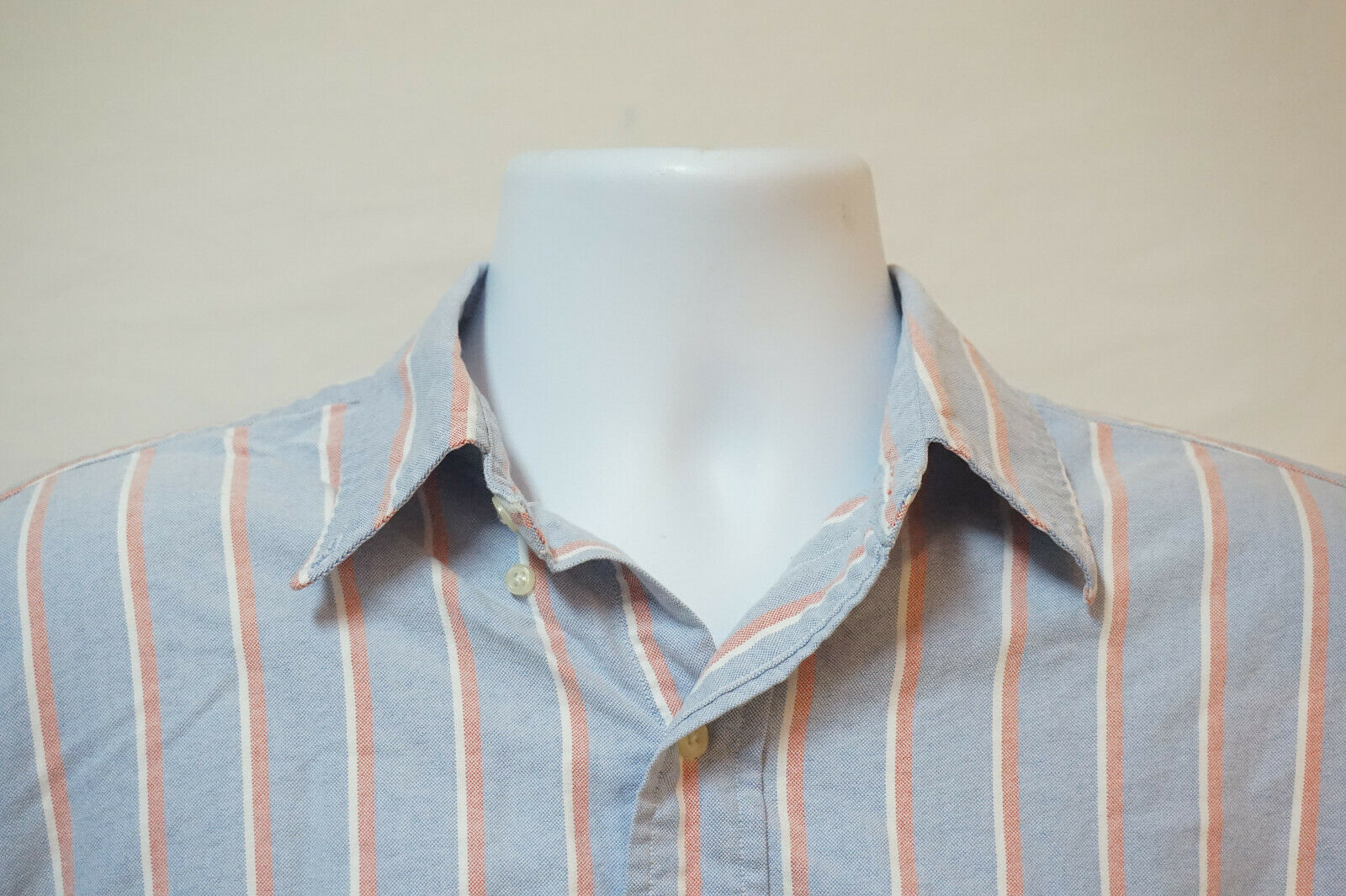 Primary image for Polo Ralph Lauren Heavy Button-Front Shirt, Excellent, Men's XL 1004
