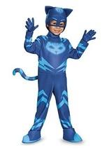 Catboy Deluxe Toddler PJ Masks Costume, Medium/3T-4T - $40.49