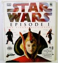 A Visual Dictionary of Star Wars Episode I David Reynolds 1999 HC DJ - $8.00