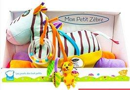 Bawi Toys - My Little Zebra Ma'sh(Tiny Version), Washable Animal Doll to Encoura