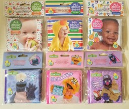 New Baby & Sesame Street Squishy Bath Bubble Books 6 Varieties Baby Pre-K - $2.99
