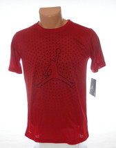 Nike Jordan Jumpman Red Short Sleeve Athletic Tee T-Shirt Youth Boy's Large L - $29.69