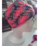 Crochet Headband Handcrafted Extra Wide Fall Women - $16.60