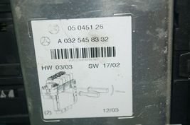 Mercedes W220 S430 S55 Rear Right Under Seat Fuse Relay Box SAM A-032-545-83 32 image 4
