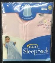 HALO Sleep Sack Wearable Blanket medium pink 6-12 months 16-24 pounds - $19.75