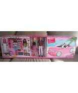 Barbie Dress Up and Go Includes Ultimate Closet, Glam Convertible + Barb... - $108.89