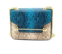 Lovely Women Serpentine Shoulder Bag Handbag Fashion Snake Skin Chain Cr... - $27.99