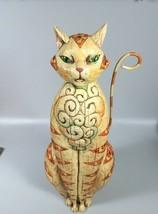 Jim Shore Heartwood Creek Tall Cat  - £171.92 GBP