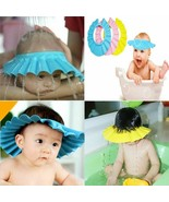 Baby Shower Shampoo Cap Hair Visor Adjustable Waterproof Ear Protection ... - $8.70+