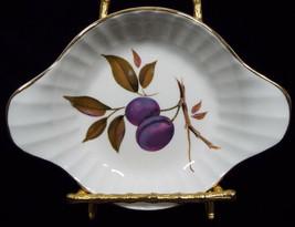 Royal Worcester Porcelain Fluted Egg Dish Individual Au Gratin in Evesha... - $29.99