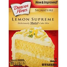 Duncan Hines Signature Cake Mix, Lemon Supreme, 15.25 Ounce image 3
