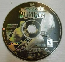 WWF Royal Rumble (Sega Dreamcast, 2000) Game Disc only Tested  - $13.72
