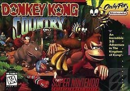 Donkey Kong Country (Super Nintendo, 1994) - $21.77