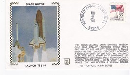 LAUNCH STS 51-I KENNEDY SPACE CENTER FL AUG 27 1985 IASP SERIES #109 Z S... - $2.98