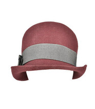Emporio Armani Womens 97392210 Hat Solid Red Size 57 CM - $66.31