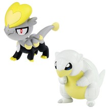 Pokemon T19034 Alolan Sandshrew VS Jangmmo-o Figure - $12.86