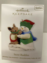 Hallmark Keepsake Snow Buddies Snowman Series Ornament New In Box - $9.85