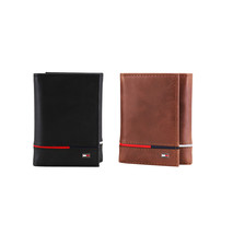 Tommy Hilfiger Men's Leather RFID Extra Capacity Trifold Wallet 31TL110044 image 1
