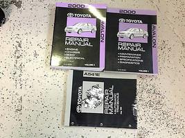2000 Toyota AVALON Service Shop Repair Workshop Manual Set OEM W Transax... - $197.99