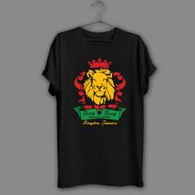 Reggae Black T-Shirt Bar Bob Vintage Navy Shirt Reggae Rasta Jamaica Lio... - $340,92 MXN