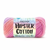 Premier Hipster Cotton Yarn in Melon Berry
