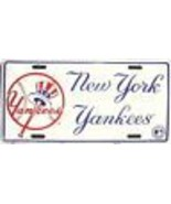 NEW YORK YANKEES CLASSIC LOGO MAJOR LEAGUE  BASEBALL MLB  LICENSE PLATE - $27.07