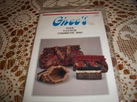 Ghee's Tote Clutch Cosmetic Bag Pattern 851 - $14.00