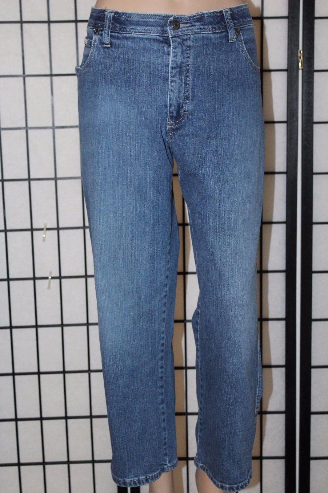 "LEE COMFORT WAISTBAND Women's Size 16P Petite Stretch Denim Jeans 27"" Inseam EUC"